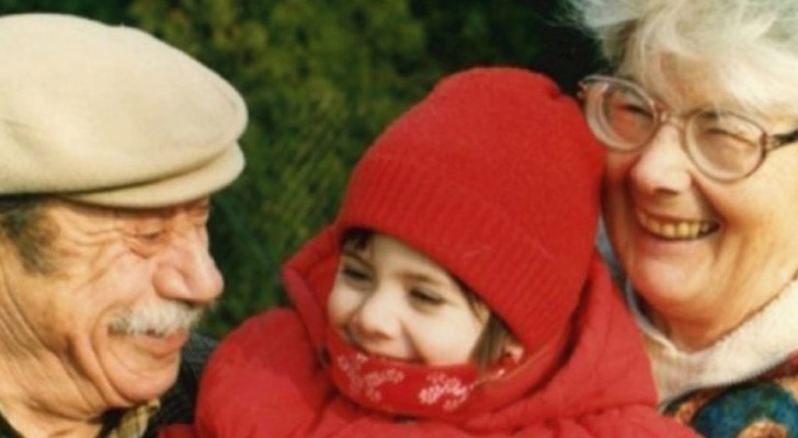 Her grandparents never let her feel the absence of a father but 20 years later a heartbreaking letter appears