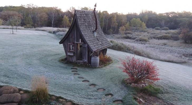 Deze ambachtsman die met hout werkt maakt huizen die wel uit een sprookje lijken te komen