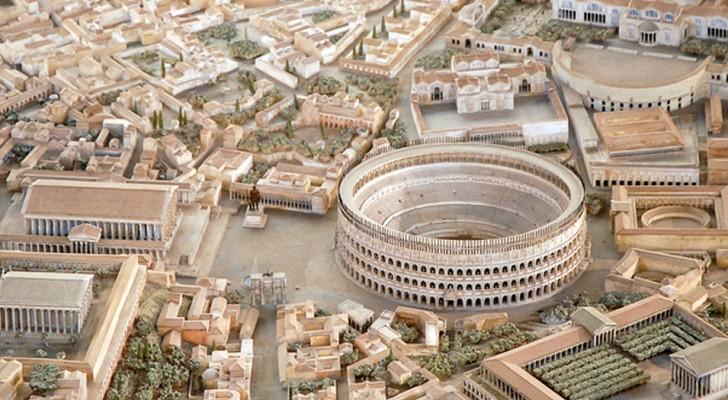 Impiega 38 anni a costruire un plastico di Roma Antica: il risultato è un tuffo nel passato