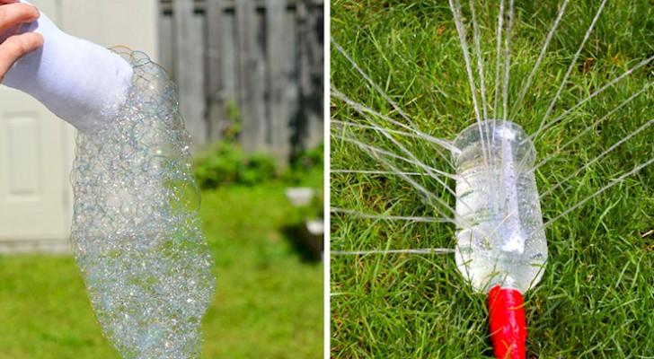 16 DIY originaux avec des bouteilles en plastique qui vous seront utiles tout au long de l'année.