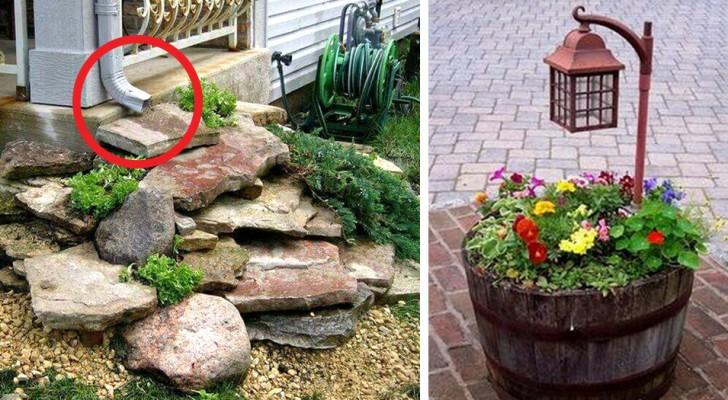 Favorito 26 idee fotografiche per trasformare il giardino o il cortile in LN22
