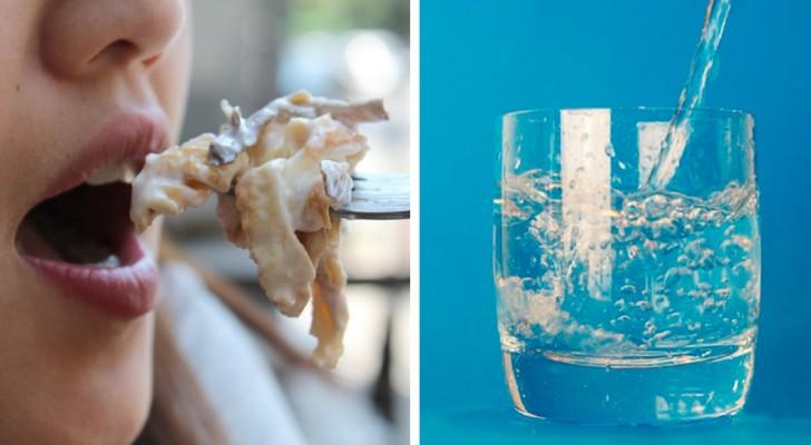 Est-il bon de boire de l'eau pendant les repas ou pas ? Voici la réponse définitive des experts