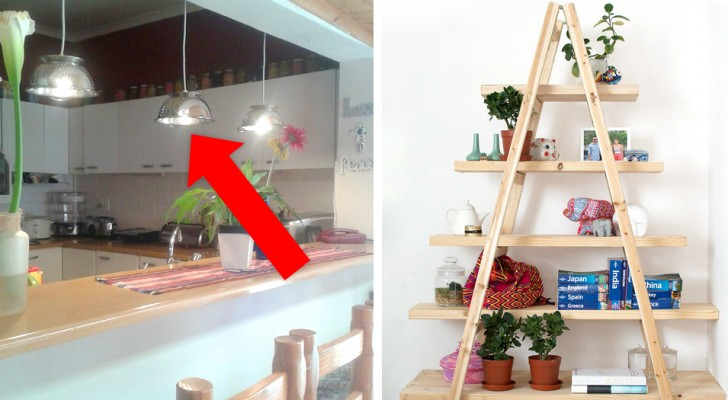 Here are 14 home furniture solutions that you can easily create with your own hands