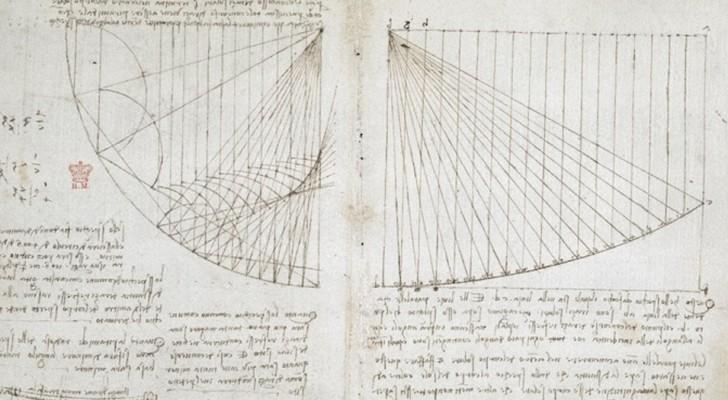570 pagine scritte da Leonardo Da Vinci sono online ed è come entrare nella mente di un genio
