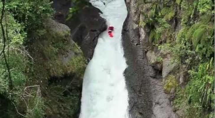 Kayak extrême, accrochez-vous!