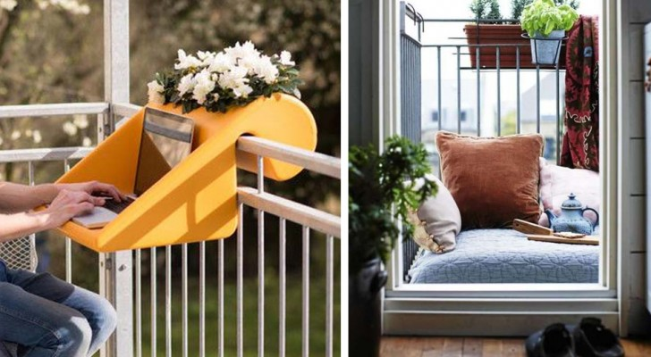 20 brilliant ideas to transform a small balcony into a welcoming and functional place