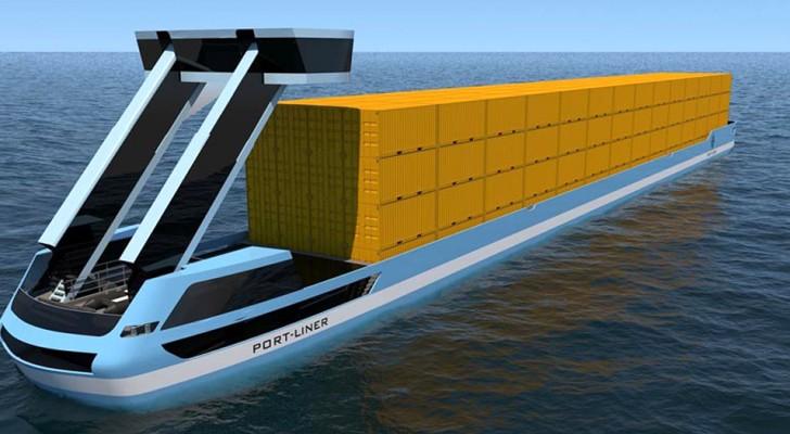 In arrivo le Navi Tesla, le prime chiatte 100% green che rivoluzioneranno i trasporti marittimi