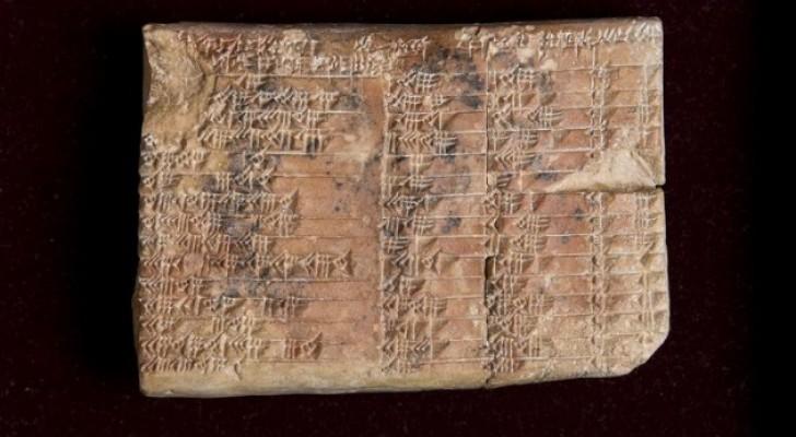 Un matematico svela il segreto custodito dalla tavola trigonometrica più antica del mondo