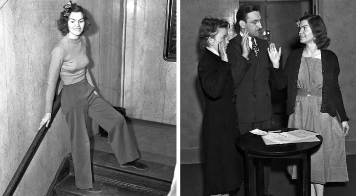 Finì in carcere per difendere il diritto ad indossare i pantaloni: ecco a voi la storia di Helen Hulick