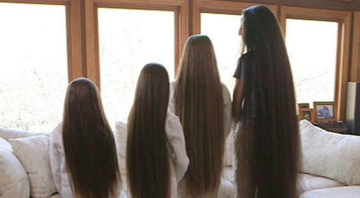 Deze vrouw en haar drie dochters hebben een mutatie in hun genen waardoor hun haar sneller groeit dan ooit is waargenomen