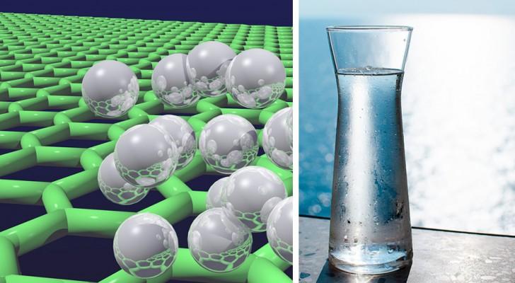 Sviluppato un filtro di grafene che riesce a desalinizzare l'acqua di mare rendendola potabile
