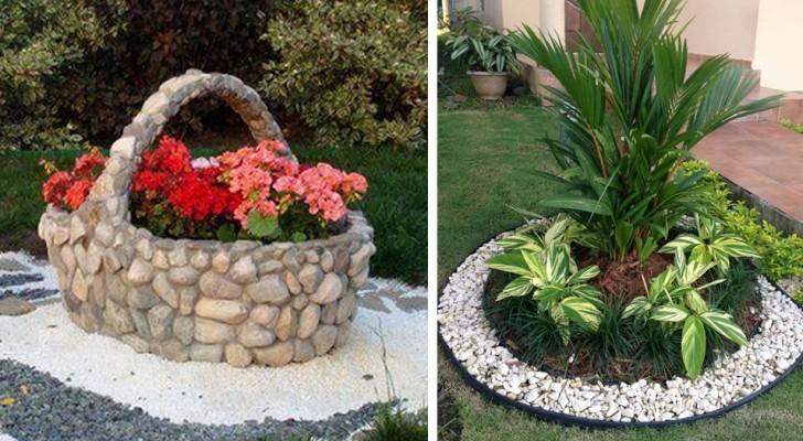 25 id es originales pour d corer votre jardin avec du gravier et des galets - Isoler son jardin des regards ...