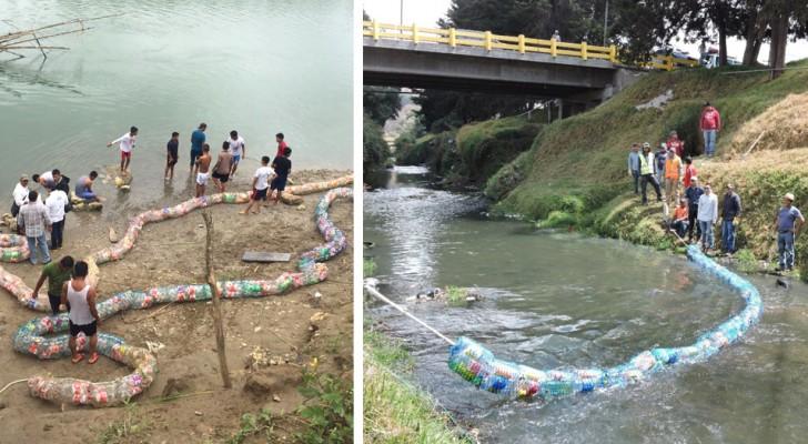 Le Guatemala a trouvé un moyen créatif d'empêcher les déchets d'atteindre la mer