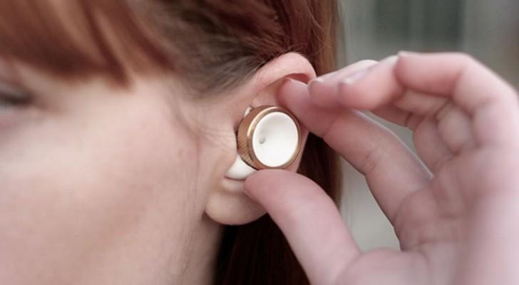 Trop de bruit autour de vous ? Avec ces bouchons super technologiques vous pouvez baisser le volume... du monde