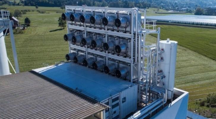 Cette gigantesque machine vient de commencer à extraire le dioxyde de carbone de l'air