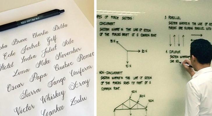 25 calligrafie così PERFETTE che qualcuno si è sentito in dovere di fotografarle per mostrarle al mondo