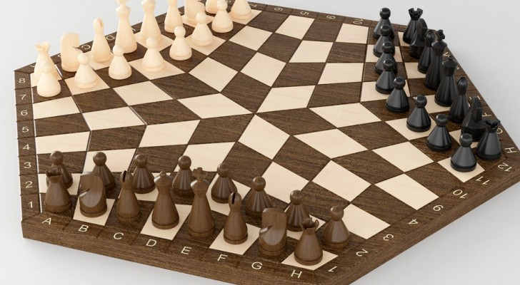Conoscete gli scacchi a 3 giocatori? Le partite sono davvero così folli come ve le immaginate