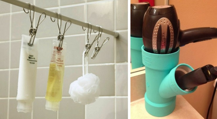 15 ingenious ideas to turn the bathroom into the most functional and comfortable room in the house