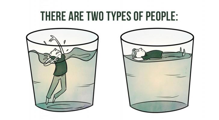 Een aantal tragikomische strips over het leven waar je jezelf zeker in zal herkennen