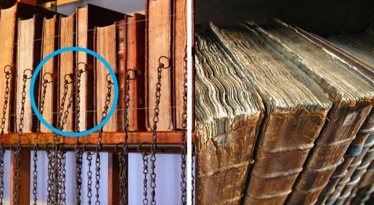 Libri medievali incatenati agli scaffali: ecco cosa si nasconde dietro questa usanza sopravvissuta ai secoli
