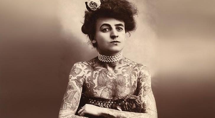 La sua foto è diventata un'icona pop, ma pochi conoscono la storia della prima tatuatrice del '900