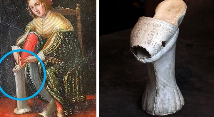 Le chopine, le zeppe del XV secolo che potevano raggiungere anche 50 cm di altezza