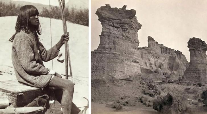 Fu il primo a fotografare il Selvaggio West prima che venisse colonizzato: ecco i suoi scatti di rara bellezza