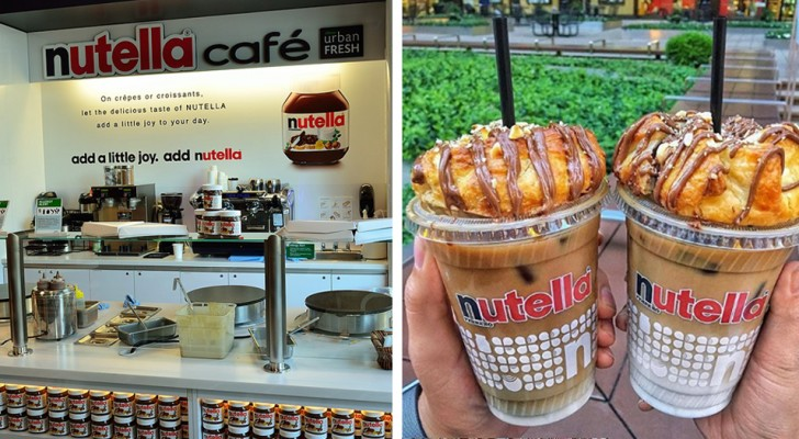 Apre a New York il Nutella Cafè: ecco cosa potete gustare in questo paradiso per golosi