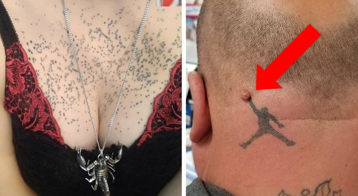 20 people who got a tattoo but would have done better to have stayed at home!
