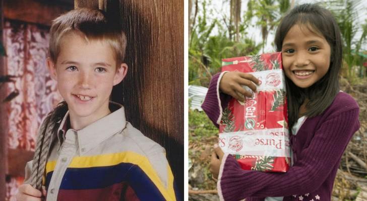 Com sete anos ele manda um pacote de Natal para as Filipinas: 14 anos depois aquele gesto vai mudar a sua vida