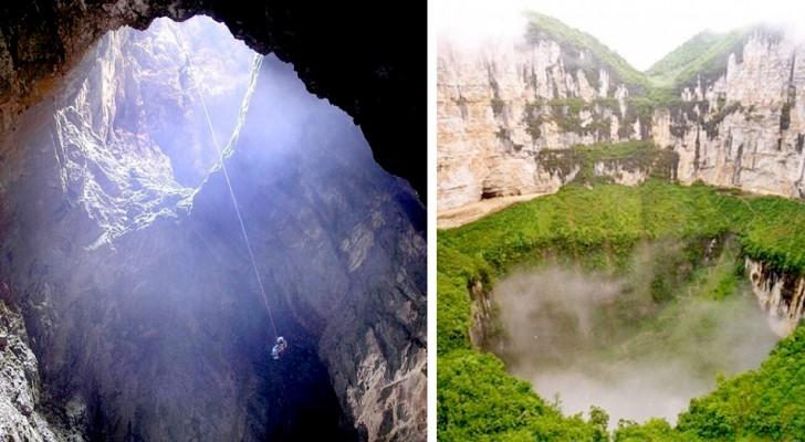 Een paar adembenemende beelden van de twaalf diepste en indrukwekkendste afgronden op aarde