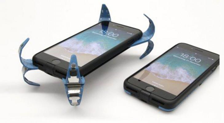 Lo smartphone ti cade in continuazione? Uno studente inventa una cover dotata di Airbag