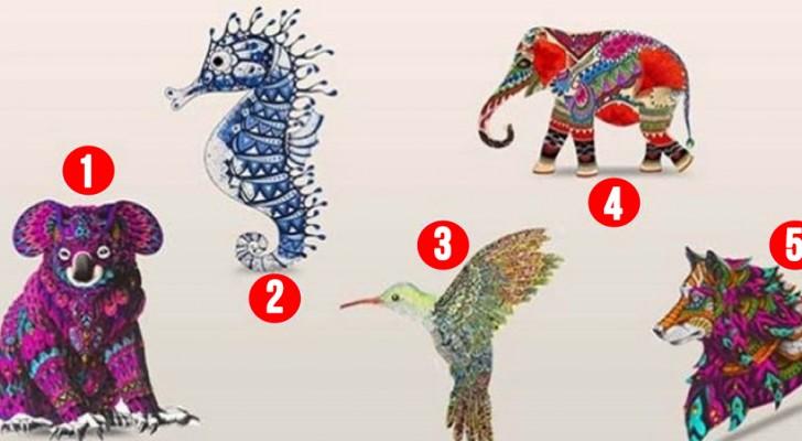 Regardez ces animaux et choisissez celui qui vous attire le plus : découvrez ce qu'il dit sur votre personnalité.