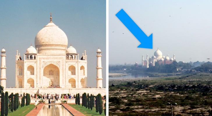 10 berühmte Orte aus einer anderen Perspektive ... Das hättest du dir nie vorstellen können