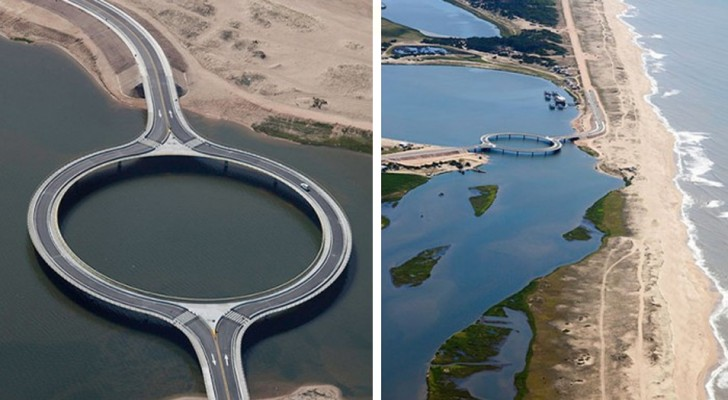 Diese Brücke in Uruguay unterscheidet sich von allen anderen: Sie ist kreisförmig und hat eine ganz bestimmte Funktion