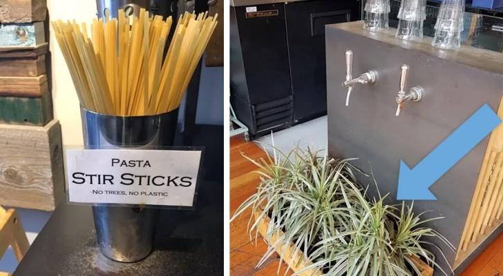 18 restaurants qui ont trouvé des solutions GÉNIALES pour aider l'environnement