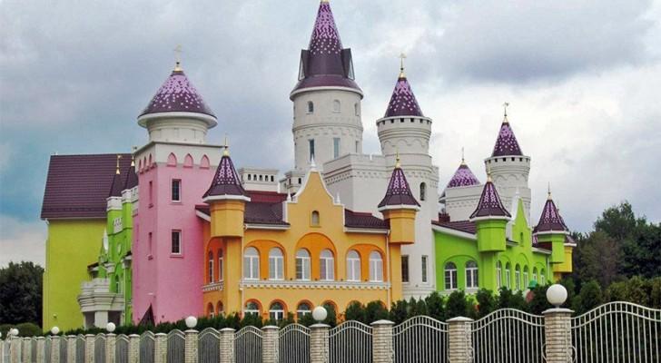 Een van de mooiste kinderdagverblijven vind je in Rusland en is geïnspireerd op het kasteel van Disney