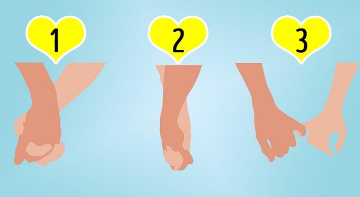 De manier waarop jij en je partner elkaars hand vasthouden, onthult veel over je relatie