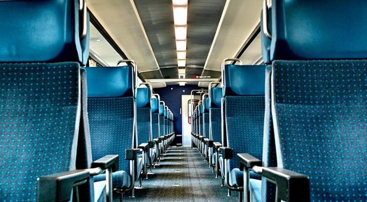 Um homem ofende um jovem com deficiência no trem: depois se arrepende e pede desculpas a todos