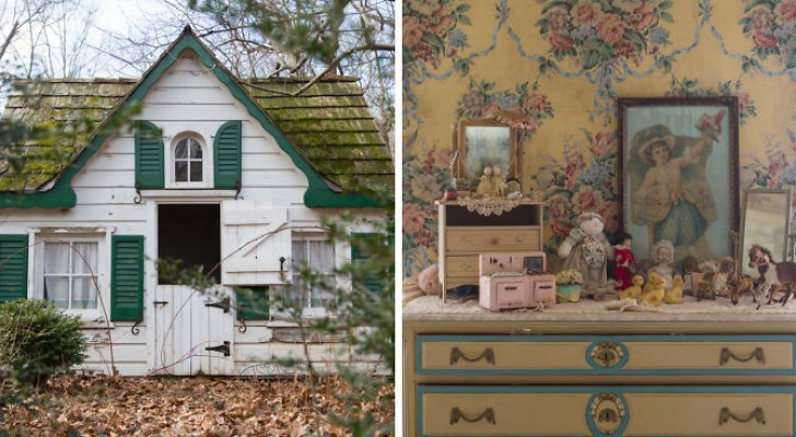 Een fotograaf vindt een verlaten huis. Eenmaal over de drempel ga je de wereld van Alice in Wonderland binnen.