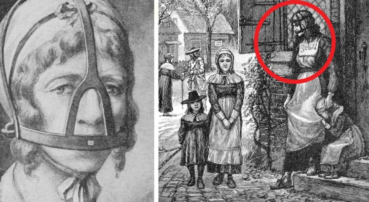 Le harnais des commères, ou comment les ragots ont été punis au Moyen Âge.