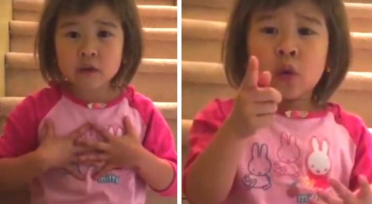Mamma e papà litigano per l'ennesima volta: la bimba di 6 anni li Sgrida con una grande lezione di vita