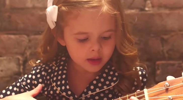 A pequena Claire fez uma nova canção que apaixonou milhões de pessoas