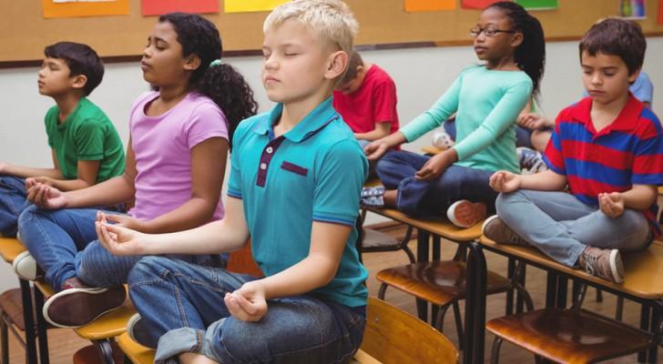 Cada vez mais escolas trocam os castigos pela meditação e os resultados obtidos são ótimos