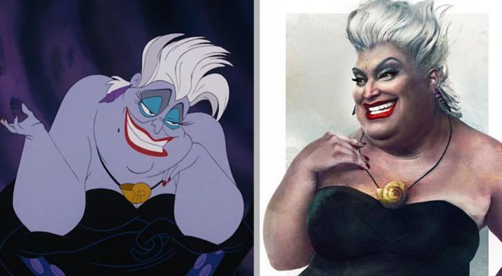 Deze Finse illustrator zet Disneypersonages neer als echte mensen: tekenfilms, maar dan zoals je ze nog nooit eerder gezien hebt