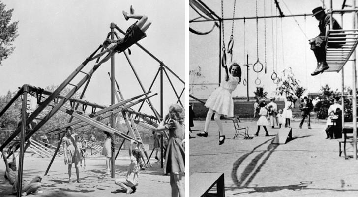 14 Vintage-Spielplätze so gefährlich, dass Sie nicht glauben werden, dass sie wirklich existierten