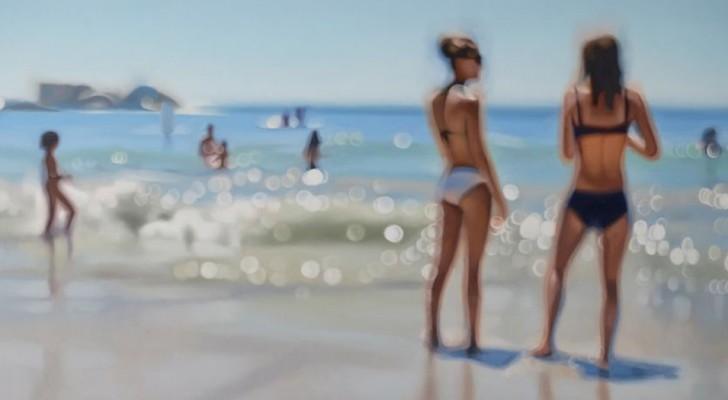 Come vedono le persone miopi senza occhiali: questo artista ce lo mostra in 10 incredibili dipinti ad olio