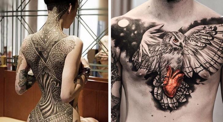 26 so realistische Tattoos, von denen Sie nicht glauben, dass sie von menschlichen Händen gemacht wurden