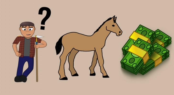 L'indovinello sull'uomo e sul cavallo che ha fatto impazzire il web: riuscite a rispondere?