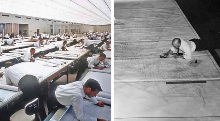 Hoe zwaar het leven was van ontwerpers voordat AutoCAD hen hielp bij hun werk